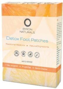 BYRON BAY Detox Foot Patches (box 7 pairs)