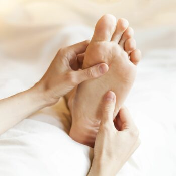 The benefits of a foot massage before bedtime